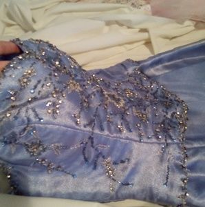 Periwinkle Pagent Gown